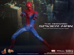 Pocket : Hot Toys Reveals Its 'The Amazing Spider-Man' 1/6 Scale Figure