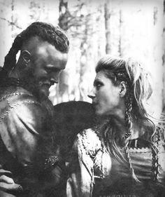 Ragnar and Lagertha.