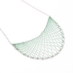 Klara in silver via Inlace Jewelry. Click on the image to see more!