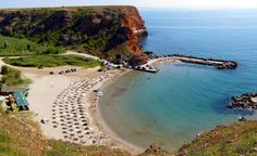 Beautiful and amazing Beaches in Bulgaria  Bolata beach - very small and secluded cove near Cape Kaliakra. Here the military years ago hav...