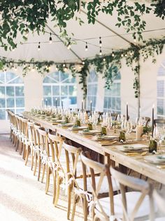 Intimate Fall Wedding with a Family-Style Dinner