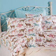 Horse and Pony Sheets and Bedding for Kids at rod's found it on babble