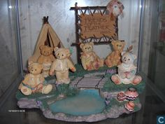 Figures and statuettes  - Statuette - Cherished Teddies indianendorp