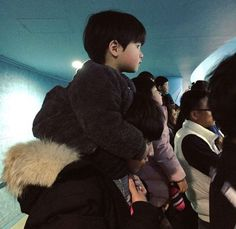 baby, ulzzang, and haru image Cute Asian Babies, Korean Babies, Korean Boy, Asian Kids, Cute Babies, Father And Baby, Dad Baby, Baby Boy, Couple Ulzzang