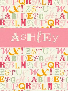 Alphabet Mix - Girl by Annette Tatum from Oopsy daisy, Fine Art for Kids $119