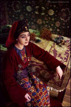 Armenian traditional costume or Garmet of Vaspurakan by Teryan Cultural Centre at Megerian Carpet