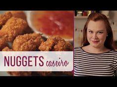 Como fazer nuggets caseiros sem fritura - YouTube