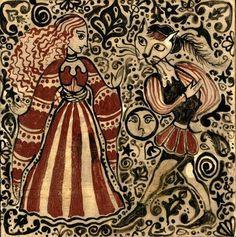回 Tile o Phile 回   Medieval Tile