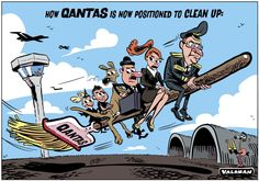 Time for a new broom? @theTiser #Qantas