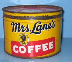 Mrs. Lane's Coffee