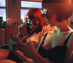Stoned in Melanchol: An Interview With Megan Doherty · Lomography Cinematic Photography, Film Photography, Neon Lights Photography, Red Aesthetic, Aesthetic Photo, Pose Reference Photo, Lomography, People, Girls