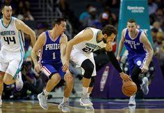 Charlotte Hornets vs Philadelphia 76ers Wells Fargo Center NBA Live