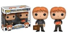 Exclusive Funko pop Harry Potter - Fred and George Weasley 2 pack Vinyl Figures Collectible Model Toy with Original Box Harry Potter Quidditch, Harry Potter Hermione, Ginny Weasley, Mundo Harry Potter, Weasley Twins, Harry Potter Pop Figures, Harry Potter Pop Vinyl, Lord Voldemort, Sirius Black