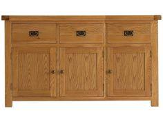 Oakwood 3 Door Sideboard LI-OAK-3DS £439.98