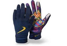 Nike Barcelona Field Player Gloves - Navy