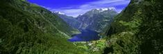 Geirangerfjord, Flydalsjuvet, More Og Romsdal, Norway Wall Decal by Panoramic Images at AllPosters.com