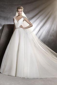 Ovidia by Pronovias from Brides of Winchester, Hampshire #weddinggown #weddingdress
