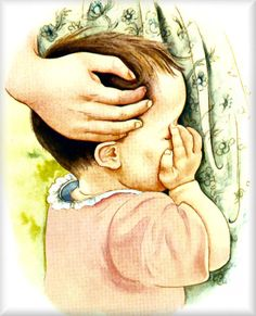 My Little Golden Book About God Illustrated by Eloise Wilkin - I have always loved this illustration of a mother's love and comfort to a child <3