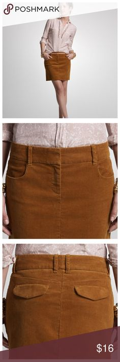 """J. Crew """"Vintage Cordy Co-ed Mini""""  Corduroy Skirt J. Crew """"Vintage Cordy Co-ed Mini"""" Brown Corduroy Skirt  • Sz 6 • 15.5"""" waist (flat) • 19"""" hips • 15"""" length • Zipper fly with two hook and eye closure • Two front and back pockets • 98% cotton 2% spandex • The skirt has a little stretch • Very good pre-loved condition, no imperfections J. Crew Skirts Mini"""