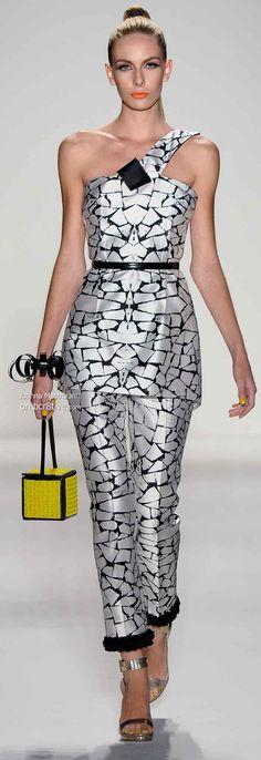 Joanna Mastroianni Spring 2014 #NYFW