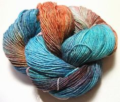 Araucania Nuble 08 Hand Dyed Extra Fine by AliceInStitchesArts