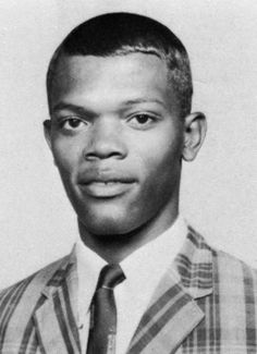 Samuel Jackson not always a badass. Played Trumpet and French Horn1965