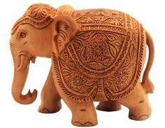 Christmas Birthday Or Housewarming Gifts For Men & Women A Decorative Wooden Elephant Sculpture Statue For Living Room Decor by India Ethnicity, http://www.amazon.com/dp/B0065UGGMU/ref=cm_sw_r_pi_dp_rggKrb1C9A9SD