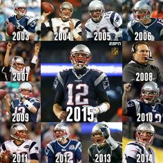 13 consecutive seasons of wins for the New England Patriots. New England Patriots Players, Patriots Fans, Nfl Football Players, Football Memes, Football Season, New England Patroits, Tom Brady Nfl, Superbowl Champions, Boston Sports