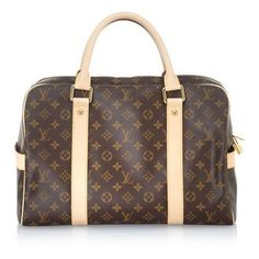 Louis Vuitton Monogram Canvas Carryall Luggage (2.750 ARS) ❤ liked on Polyvore featuring bags, luggage, bolsas, louis vuitton, purses and handbags