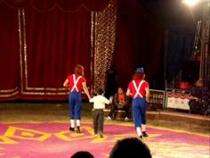 Circo ATAYDE Hermanos en Puerto Morelos - Clowns show - YouTube