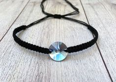 AmreyShop on Etsy Swarovski, Braided Bracelets, Etsy Seller, Accessories, Handmade Bracelets, Wristlets, Blue, Schmuck, Loom Bracelets
