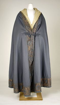 Cape 1905, American, Made of silk and wool