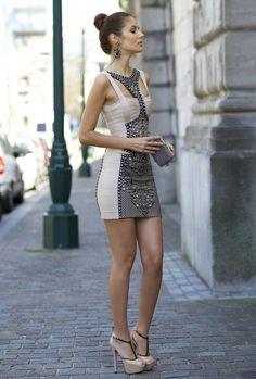 Faddish Short Dress for Women