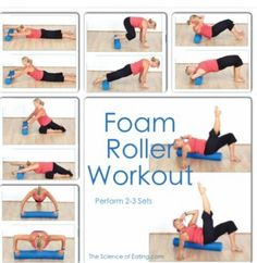 Foam roller work out