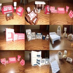 DIY Barbie Furniture | DIY Barbie house / Furniture