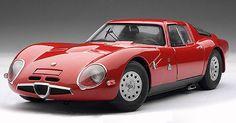 1965 Alfa Romeo TZ2. Just stunningly beautiful. When cars actually had style.
