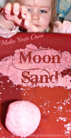 Fairy Dust Teaching shared a great post on making moon sand the other day, and I realized that we had not made any of ours in a long time! So, today….. We made some!  We started with cornstarch.  Then we added about 1 1/2 times of the colored sand. It is not an exact science, …