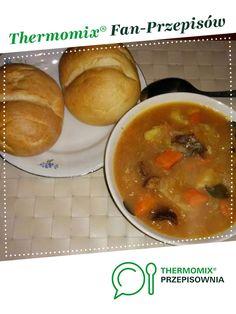 Kapuśniak domowy jest to przepis stworzony przez użytkownika tomek176. Ten przepis na Thermomix<sup>®</sup> znajdziesz w kategorii Zupy na www.przepisownia.pl, społeczności Thermomix<sup>®</sup>. Thai Red Curry, Baked Potato, Potatoes, Thumbnail Image, Meat, Chicken, Baking, Ethnic Recipes, Food