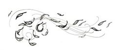 how to draw wind blowing - Google Search