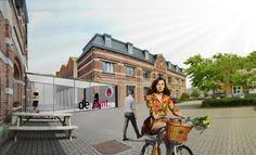0000 DE PUNT: ontwerp van een integraal duurzaam bedrijvencomplex te Gentbrugge.