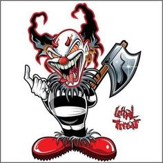 Pilot Automotive 6-inch x 8-inch AX CLOWN Vehicle Car Decal Stickers | Overstock.com Shopping - The Best Deals on Auto Interior Accessories