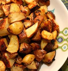 Recipe For Mustard and Garlic Roasted Potatoes - This is a recipe I didn't know I was waiting for.  But clearly I was waiting for this to come into my life.