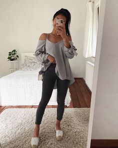 45 Impressive and Cute Summer Outfits Ideas to Try Now Cute Comfy Outfits, Casual Summer Outfits, Simple Outfits, Stylish Outfits, Spring Outfits, Girls Tumblrs, Look Girl, Teenager Outfits, Outfits For Girls