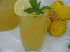Naneli Limonata Resmi, Kolay ve Resimli Nefis Yemek Tarifleri