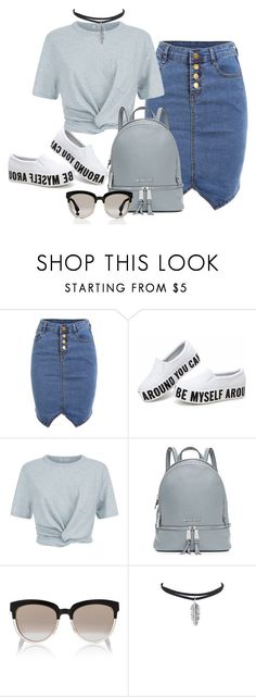 """Sem título #155"" by fran83 ❤ liked on Polyvore featuring T By Alexander Wang, MICHAEL Michael Kors and Christian Dior"