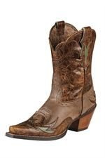Ariat Women's Brown Dahlia Cowgirl Boots