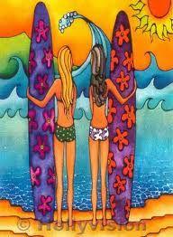 Cute Surf art