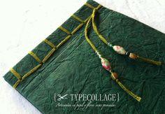 Verde textura pizarra / ✂ Typecollage - Artesanio