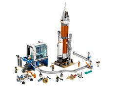 Shop LEGO City Deep Space Rocket and Launch Control 60228 at Best Buy. Find low everyday prices and buy online for delivery or in-store pick-up. Lego Store, Shop Lego, Buy Lego, Lego Minecraft, Space Rocket Launch, Space Launch, Lego City Space, Figurine Lego, Yachts