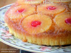 Welcome Home Blog: Pineapple Upside Down Cake http://www.welcome-home-blog.net/2013/11/pineapple-upside-down-cake.html